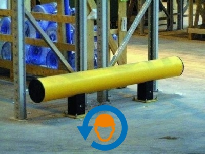 1 Rack End Barrier. 1600 mm
